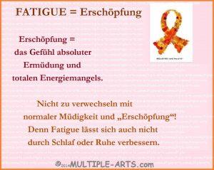 11536096958a67e515445b80987602ef 300x239 - *Fatigue: eine emotionale Erklärung für Angehörige von einer Fatigue-Geplagten ;-)