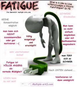 Fatigue nach fibro life 265x300 - *Fatigue: eine emotionale Erklärung für Angehörige von einer Fatigue-Geplagten ;-)