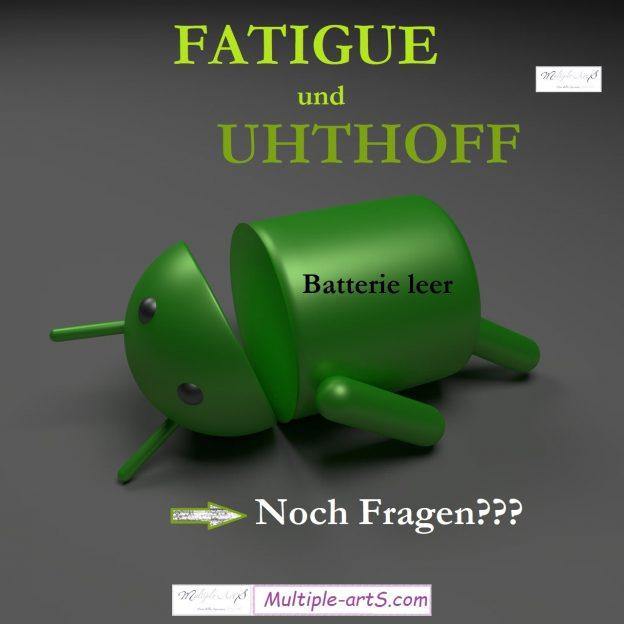 fatigue und uhthi...noch fragen 624x624 - *Fatigue: eine emotionale Erklärung für Angehörige von einer Fatigue-Geplagten ;-)