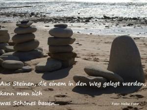 c Foto Heike Führ Steine und Weg