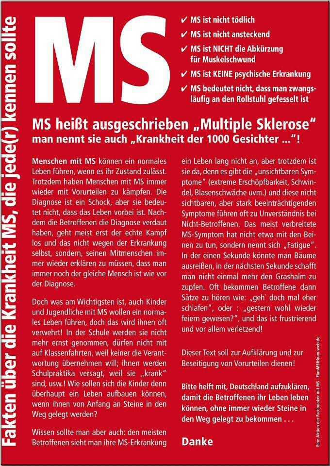 Ein Toller Text Der Ms Deutlich Und Kompakt Erklärt