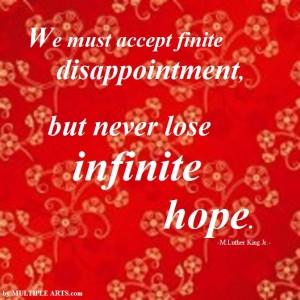 endliche u,unendliche hope