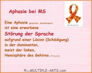 Aphasie spraxh 300x239 - * WORTFINDUNGSSTÖRUNGEN bei MS