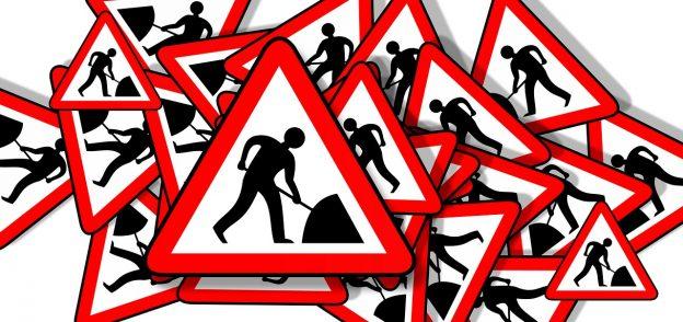 road sign 3079793 1280 624x294 - Achtung: Baustelle auf meinem Blog :(