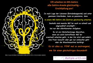 a00b14499fe9a586867f81d35c820055 300x203 - Oft arbeiten im MS-Gehirn alle Gehirn-Areale gleichzeitig – Erschöpfung pur!