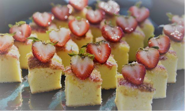 strawberry 1284551 1280 624x373 - Rezept: LOW CARB – Käsekuchen ohne Boden mit Erdbeeren