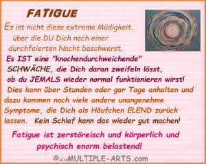 FATIGUE belastend 300x239 - Was ist Fatigue bei MS?