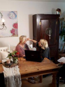 2 225x300 - Noch einmal kam das ZDF zum Drehen über MS und die unsichtbaren Symptome