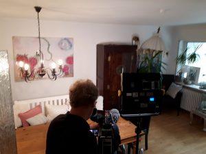 3 300x225 - Noch einmal kam das ZDF zum Drehen über MS und die unsichtbaren Symptome