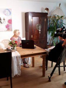 4 225x300 - Noch einmal kam das ZDF zum Drehen über MS und die unsichtbaren Symptome