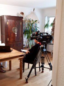 a5 225x300 - Noch einmal kam das ZDF zum Drehen über MS und die unsichtbaren Symptome