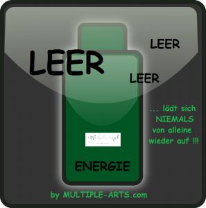 """batterie leer 297x300 - """"Die Löffel-Theorie"""": Eine Erklärung, wie schnell sich unsere Energie-Reserven erschöpfen"""