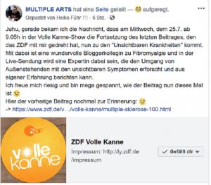 vk 300x263 - ZDF  Volle Kanne-Show - die Fortsetzung des letzten Beitrages mit einem Interview von mir