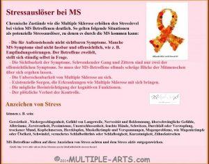 stress 300x236 - Kann Stress einen Schub auslösen?