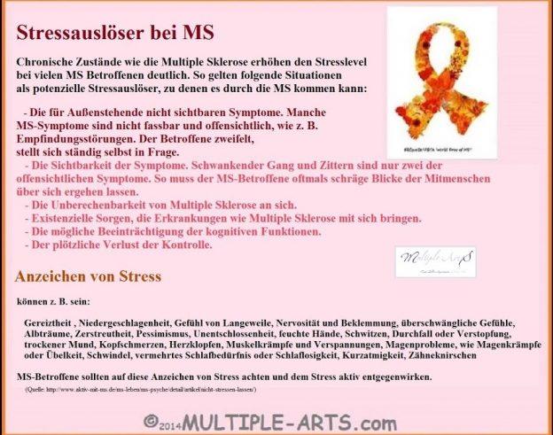 stress 624x491 - Kann Stress einen Schub auslösen?