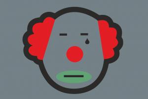 clown 3116504 1280 300x200 - Ein Clown – er lacht und er weint /  Feiern mit MS und anderen Dramen