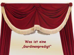 """curtain 941716 1280 300x225 - Was ist eine """"Gardinenpredigt""""?  Redewendungen und woher sie kommen!"""