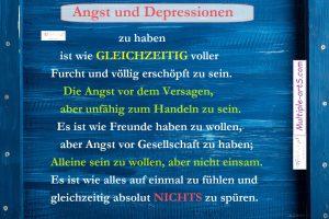 Angst und Depressionen xxx 300x200 - Wie meine Depression mir half, mit MS umzugehen *frei übersetzt