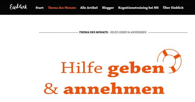 """Screenshot 2019 06 12 18.20.53 624x327 - Der neue Themen-Monat auf """"Einblick"""" ist online"""