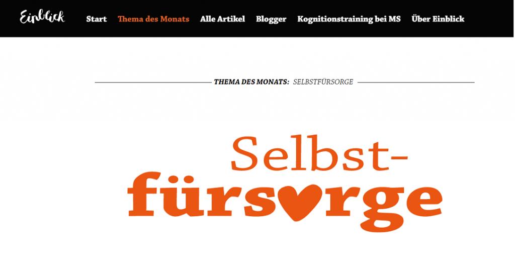 Screenshot 2019 09 12 14.38.26 1024x547 - Selbstfürsorge: Neuer Themenmonat bei EINBLICK.ms-persoenlich.de