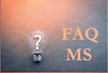 FAQ MS Titelbild - Meine neue MS - FAQ - Seite hier auf dem Blog