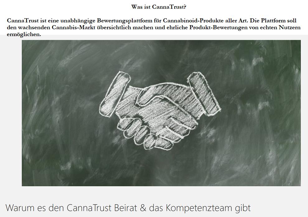 cannatrust - CannaTrust - Ich bin Mitglied im Kompetenz-Beirat