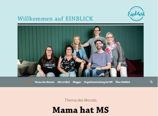 """einblick mama hat ms 624x456 - EINBLICK: der neue Themenmonat ist online: """"Mama hat MS!"""""""