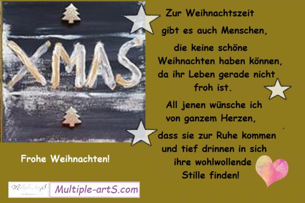 Zur Weihnachtszeit gibt es auch Menschen 624x415 - FROHE WEIHNACHTEN