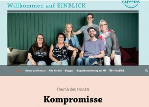 kompromisse einblick 300x217 - Neuer Themen-Monat bei Einblick: KOMPROMISSE