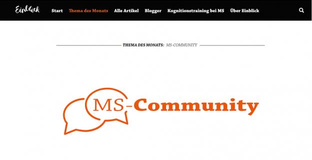 community 624x321 - COMMUNITY: Das neue Monatsthema bei Einblick