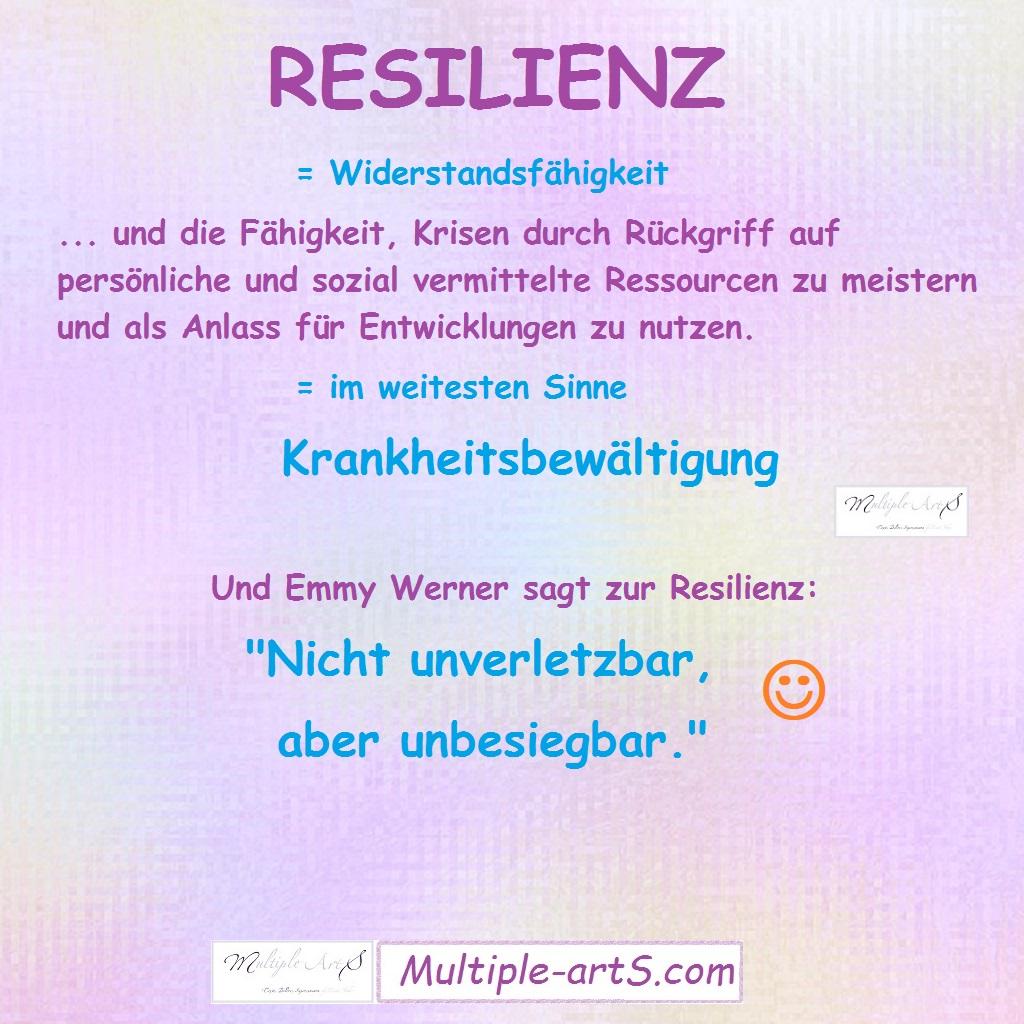 resilienz - Resilienz - Die Fähigkeit, Krisen zu überwinden