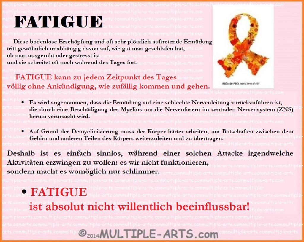 FATIGUE ist willentlich nicht beeinflussbar 1024x816 - FATIGUE Lassitude/Mattigkeit: Teufelspaar
