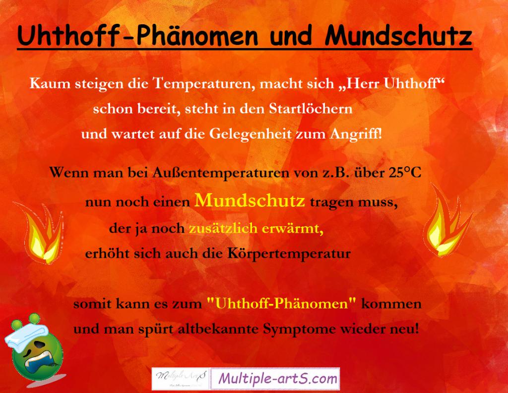 uhthoff und mundschutz png 2 1024x794 - UHTHOFF-Phänomen mit Mundschutz