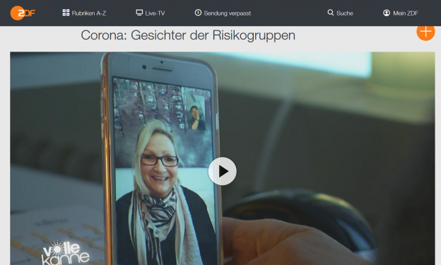 zdf mediathek corona risikogruppen 624x375 - Interview zu den Risikogruppen des Corona-Virus: ZDF Mediathek