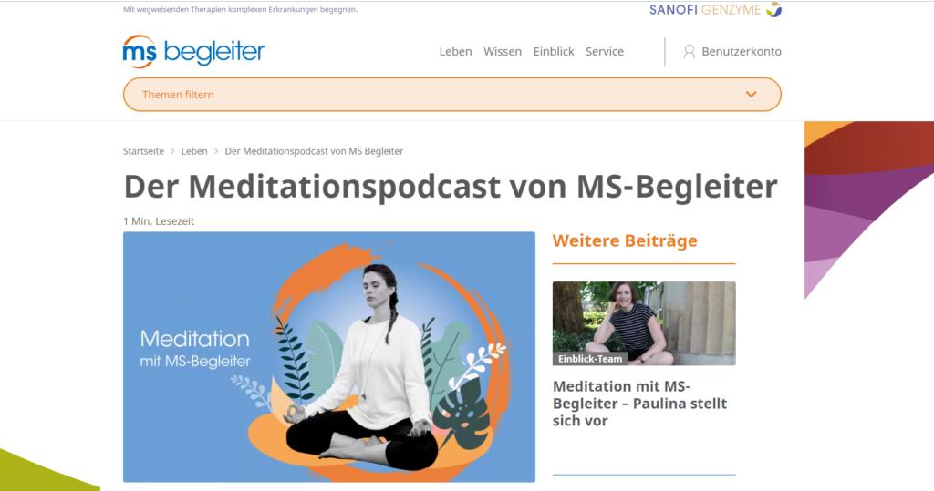 1 1 1024x539 - Der Meditationspodcast von MS-Begleiter