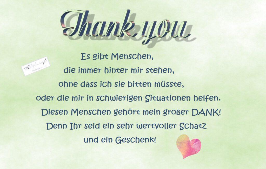 Es gibt Menschen DANKE sagen geschenk 1 1024x652 - Dankbarkeit inmitten des Schmerzes hilft