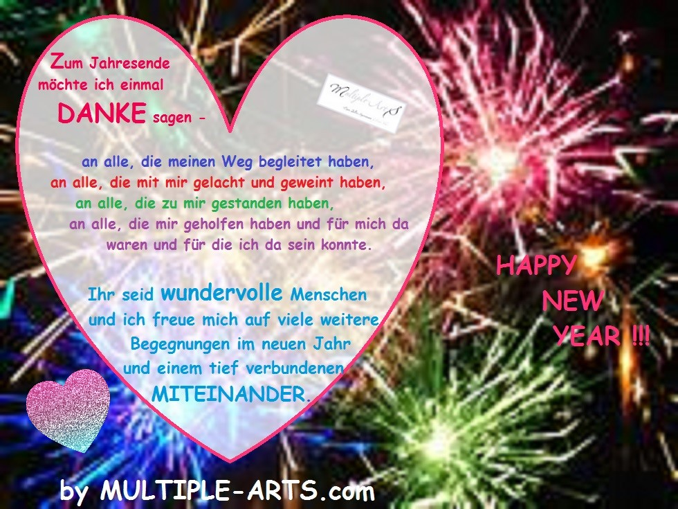 danke new year 1 - Das außergewöhnliche Jahr 2020