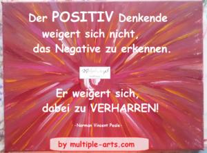 positiv denkende 1 300x222 - Mein neues Leben - in Vertrauen auf Positives